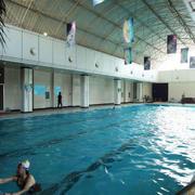游泳馆绿化设计