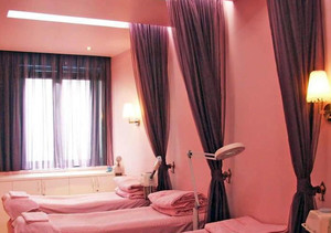美容院装修spa床效果图