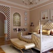卧室拱形门设计