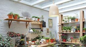 增添新气象的室内花架效果图