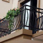 复古风格阳台护栏设计