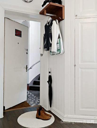 现代都市潮流时尚的单身公寓住宅装修效果图
