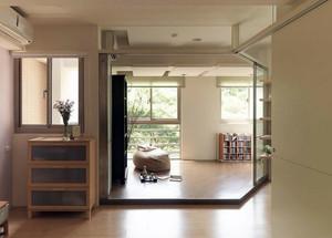 极具现代化的日式榻榻米客厅装修效果图