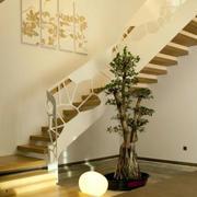 简约清新楼梯设计