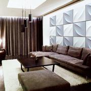 3D效果背景墙设计