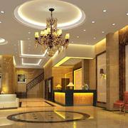酒店装修大堂设计