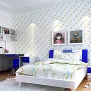 果绿色儿童房壁纸设计