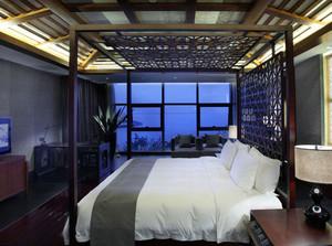 豪华商务酒店卧室设计装修效果图