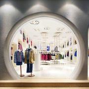 服装店拱形门设计