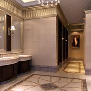 卫生间过道设计