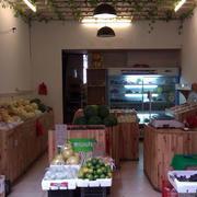木制水果店货架设计