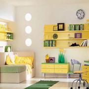色彩明亮儿童房设计