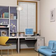 书房电脑桌设计