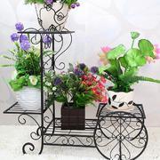 自行车模型花架设计