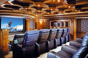 欧式奢华家庭影院设计