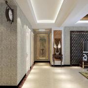 古典装饰的走廊设计