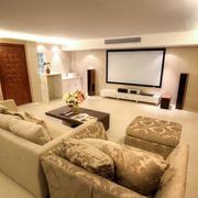家庭影院沙发设计