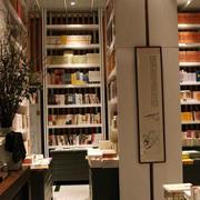 带有古韵别致书店书架