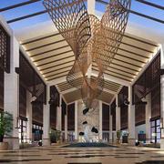 酒店大堂创意吊顶设计