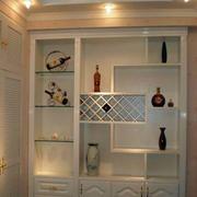 整体式欧式酒柜设计