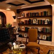 客厅书房一体化样板房