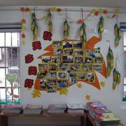 简约清新幼儿园墙饰