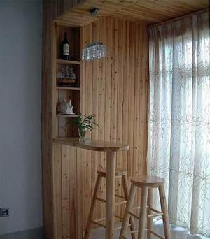 高档不失温馨的家庭小吧台装修效果图展示