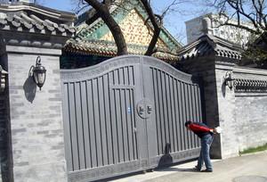 霸气的别墅大门装修效果图