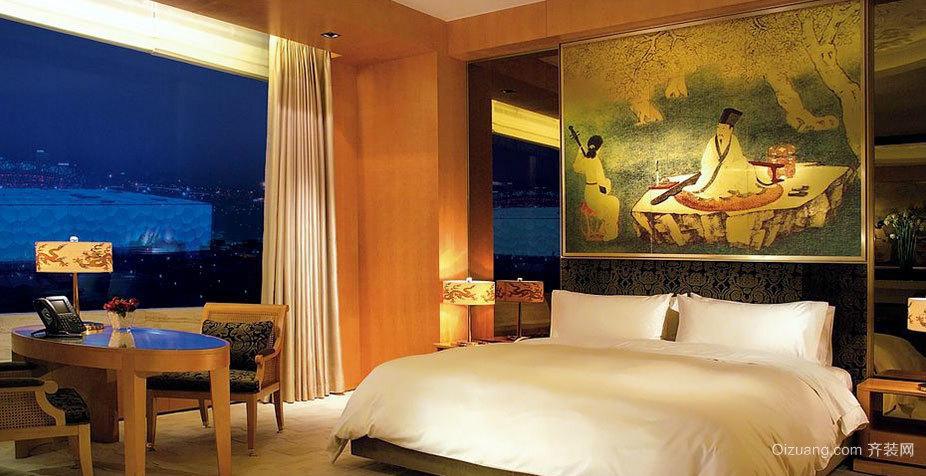 环境优美的迪拜七星级酒店装修效果图