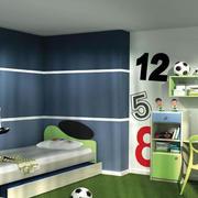 运动型儿童房设计