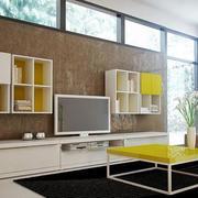现代储物极多电视柜设计