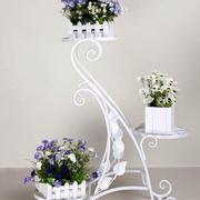白色简约花架设计