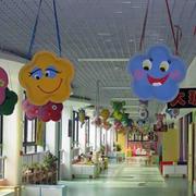花儿型幼儿园吊饰设计