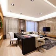两室一厅书桌