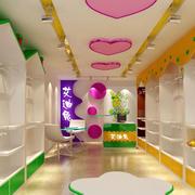 儿童服装店柜台设计