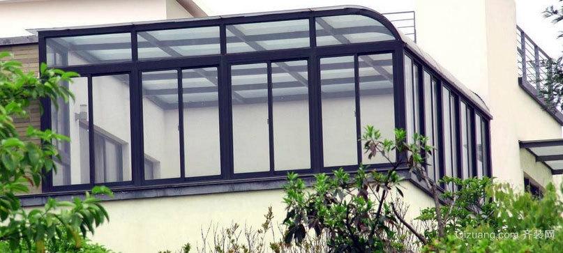 别墅柔和型阳光房装修效果图