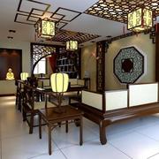 中式古韵灯饰装修