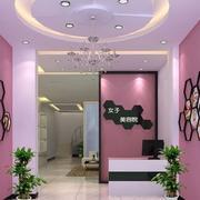 美容院墙壁设计