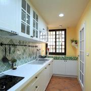 两室一厅厨房效果图