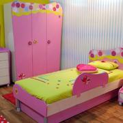 粉色装儿童房设计