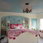 卧室床头彩绘