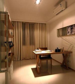 现代都市办公小书房装修效果图大全