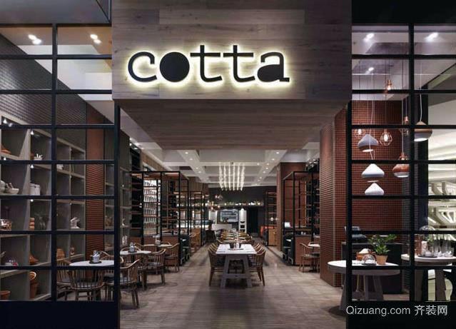 特色咖啡屋:咖啡店装修设计效果图展示