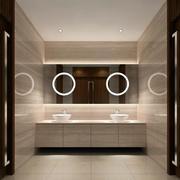 卫生间镜饰设计