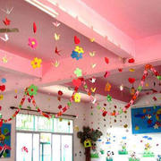 缤纷的幼儿园吊饰装修