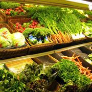 蔬菜超市货架