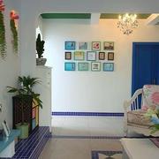 两室一厅照片墙设计