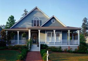 全新田园风格独栋别墅装修效果图一览