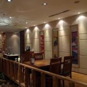韩式餐厅过道设计