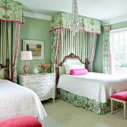 小房间双人床装修